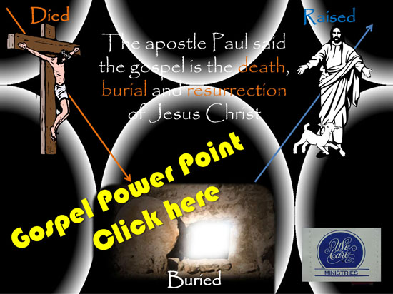 Gospel Presentation Power Point